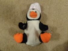 NEW 1998 COCA-COLA COKE BEANIE BABY BABIES PENGUIN IN CHEF'S HAT
