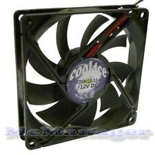 Cool4ce 8cm/80mm/80x80x15mm 12V Computer/PC/CPU Silent Cooling Case Fan