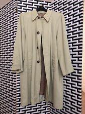 Giorgio Armani Men's Trench Coat, Size 40, Generous Fit