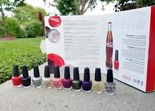 Opi Mini Nail Polish Lacquer * 10 Pack Of Style * Coca Cola Collection