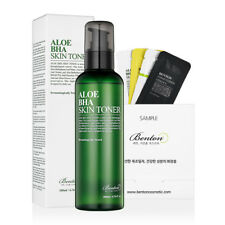 [Benton Cosmetic] Aloe BHA Skin Toner 200ml + Free Sample
