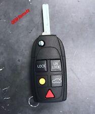 Replacement for Volvo C30 C70 S40 S60 S80 V50 V70 LQNP2T-APU Flip Key Fob Remote
