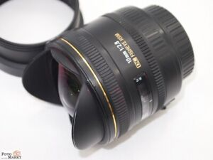 Sigma Ex Fisheye Canon Dc 10 MM 1: 2,8 Wide Angle Lens For DSLR Aps-C Sensor