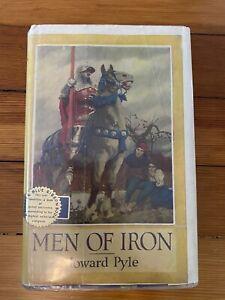 1919 - MEN OF IRON, HC Howard Pyle Illustrated