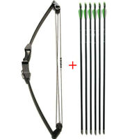 Archery Youth Compound Bow Arrow Set Kids Junior Children Practice Training Gift