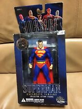 DC Justice League Ser 1 SUPERMAN Exclusive Variant Retailer Version Figure MIB