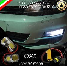 COPPIA LAMPADE FENDINEBBIA H11 LED CREE COB CANBUS VW GOLF 7 NO ERRORE