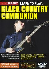 LICK LIBRARY Learn to Play BLACK COUNTRY COMMUNION Joe Bonamassa GUITAR DVD