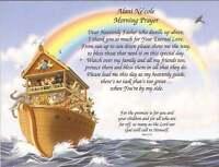 Personalized Poem Gift for New Baby, Shower, Grandchild Baptism Christening