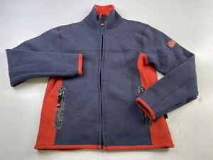 Dale Of Norway Women's Full Zip Wool Stretch Fleece Jacket Base layer Medium