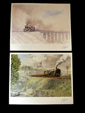 West Highland  Fling - 2 x  Michael Turner Train Prints