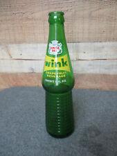Vintage Soda Pop Bottle Cardboard Carton Carrier CANADA DRY WINK10ozNice Cond.