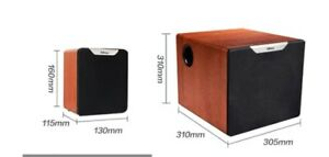 active computer  speakers & subwoofer(8in) built in amp 92w output