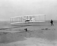 WRIGHT BROTHERS KITTY HAWK 1ST FLIGHT 1903 16x20 SILVER HALIDE PHOTO PRINT