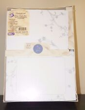 50 Easy to Print Invitation Kit, Envelopes, Respond Cards, Seals PERIWINKLE VINE