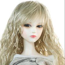"Dollmore 1/3 BJD dollfie SD wig  (8-9)"" Soft Wave wig (Blond) long hair wig"