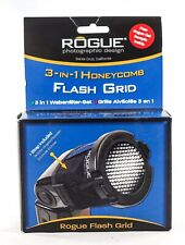 Rogue Flash Grid 3-in-1 Honeycomb w/Attachment Strap Storage Pouch