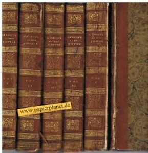 The History of the Decline and Fall of the Roman Empire Vol. IV, V, VI, VII, IX,