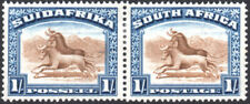 South Africa 1927-30 1s brown & deep blue, perf.14, SG.36, fine mint cat.£30