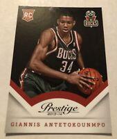 🔥🔥Giannis antetokounmpo 13-14 Prestige RC Milwaukee Bucks NBA MVP🔥🔥