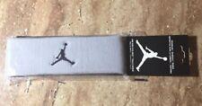 Nike Air Jordan Jumpman Headband Sweatband Grey/Black JKN00004-OS