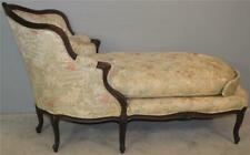 18834 French Carved Victorian Chaise Lounge