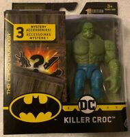 """DC SPINMASTER THE CAPED CURSADER KILLER CROC 4"""" Action Figure  1ST EDITION NEW"""