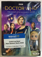 Doctor Who - The Eleventh Series with Funko Minifigure(3 DVD set, 2019)See Picts