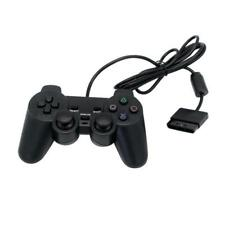 Negro Dual Shock Wired Controller Joypad Gamepad Para PS2 PlayStation 2