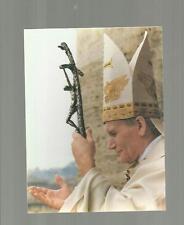 96849 santino holy card  PAPA GIOVANNI PAOLO II