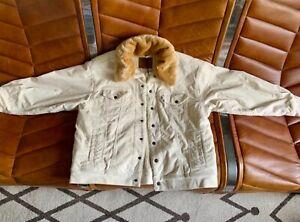 Levi's oversized Cream trucker jacket | BNWT | Size L