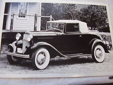 1932 FORD CABRIOLET  12 X 18  LARGE PICTURE  PHOTO #2
