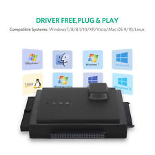Hard Drive Adapter Transfer USB 3.0 To IDE SATA HDD Converter Connector Black