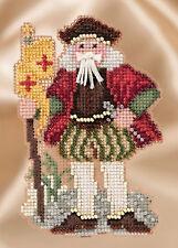 Cross Stitch Kit ~ Mill Hill Renaissance Santas - Genoa Santa #MH20-1633