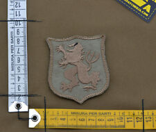 """Ricamata / Embroidered Patch Devgru """"Lion Small"""" Coy Tan with VELCRO® brand hook"""