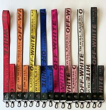 Off White Inspired Industrial Keychain Lanyard Key Buckle FAST SHIPPING from USA