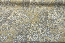 Swavelle Bohemian Patchwork Smoke Upholstery Fabric By The Yard