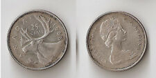Canada 25 cents 1968