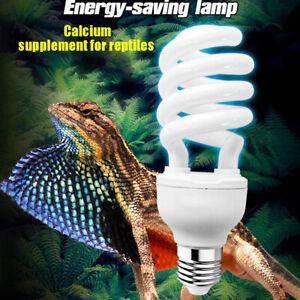 Ultraviolet Light Bulb 5.0 10.0 UVB 13W 26W Pet Reptile Light Glow Lamp Daylight