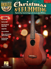 "UKULELE PLAY-ALONG VOLUME 11 ""CHRISTMAS STRUMMING"" MUSIC BOOK/CD-NEW ON SALE!!"