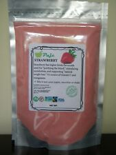Strawberry powder 8oz 1/2lb - weight loss, vitC, flavor with NO little seed PAJE