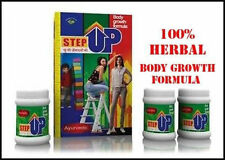 Original STEP UP Ayurveda Herbal Powder Body Growth & Height Increasing Formula.