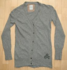Replay Strickjacke Weste Cardigan Grau Gr. L *wie NEU*