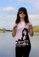Jim Morrison The Doors RIDERS ON THE STORM ladies SCREEN PRINTED T-Shirt