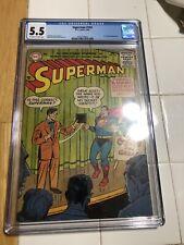 RARE SUPERMAN #103 CGC 5.5 F-; OW-W; scarce!; Mr. Mxyzptlk app.!