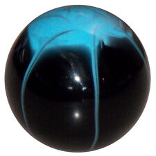 Splash Black w/ Light Blue shift knob M8x1.25 thread U.S MADE