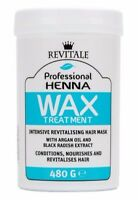 Revitale Professional Henna Revitalising Wax Hair Care Mask Treatment 480g