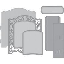 Spellbinders Die ~ GRAND CABINET 3D CARD ~ S6-139 ~ Amazing Paper Grace