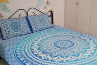 Queen Size Bedspreads Throw Indian Bohemian Mandala Bed Cover Blanket Dorm Decor
