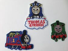 3 pieces  Embroidered Sew Iron On Patches Cartoon Fabric Applique Clothes SET